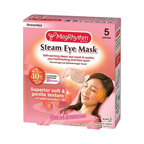めぐりズム 蒸気でホットアイマスク 無香料 5枚入