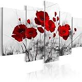 B&D XXL murando Impression sur Toile intissee 100x50 cm 5 Pieces Tableau...