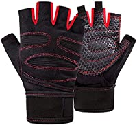 Weight Lifting Gloves with Integrated Wrist Support Weight Lifting Gloves with Integrated Wrist Support and Cool Weave Technology on the Back of the Hand to Enhance Ventilation, Comfort and Provide a Superior Fit. Allows Your Sweat to Evaporate and Y...