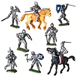 Spielfiguren Sortiment Ritter - 10 Figuren - Made IN Germany