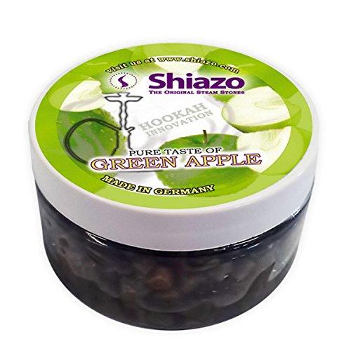 Shiazo - Sustitutivo de tabaco, 100 gr. manzana verde - granulado de piedra - sin nicotina, 100 gr.