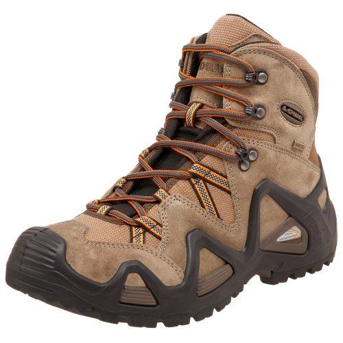 Lowa Men's Zephyr GTX Mid Hiking Boot,Beige/Brown,9 M US