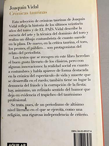Cronicas taurinas