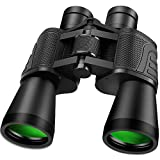 Outerman Powerful Binoculars for Adults 12 x 50, Waterproof Telescopes IPX7 Binocular for Hunting, Clear Prism Binoculars for Watching Birds, Outdoor Sports, Travel Sightseeing and Hunting Wildlife
