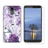 SZJCKJ Transparent Case + HD Screen Protector for HISENSE (F24) Infinity H11 Lite (5,99'), Premium Clear Film Protector Tempered Glass - Protective Cover TPU Protection Shell Silicone - HY25