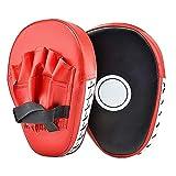 Cozyswan - Almohadilla de Entrenamiento de Boxeo - Paos de Boxeo - Manoplas de Poliuretano - Color Rojo
