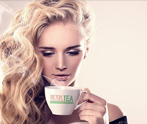 28 Days Teatox: Detox Skinny Herb Tea - Effective Detox Tea, Only Natural and Organic Ingredients, Full Body Cleanse, Teatox 4