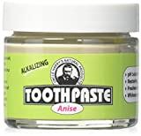 Uncle Harry's Fluoride Free Toothpaste - Anise (3 oz glass jar)