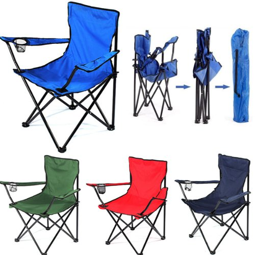 Krevia Portable Folding Camping Chair for Fishing and Outdoor Paty