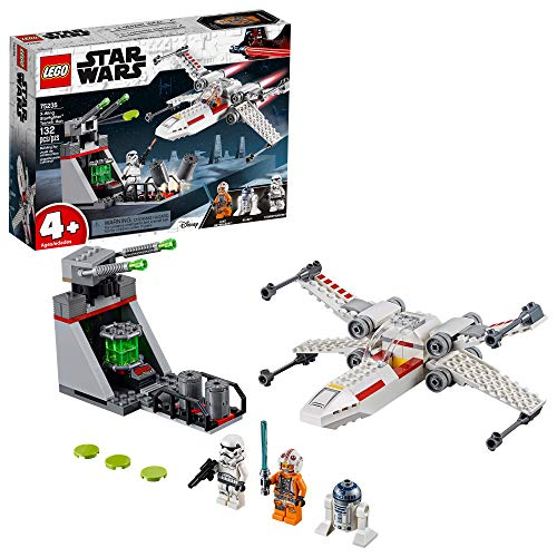LEGO Star Wars X Wing Starfighter Trench Run 75235 4+ Building Kit (132 Pieces)