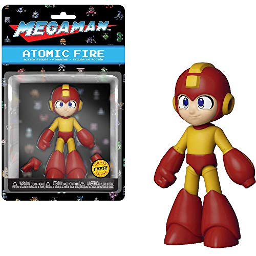 Mega man funko action mega man atomic fire chase