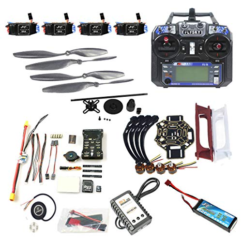 FEICHAO DIY FPV Drone Aircraft Kit Quadcopter 4 Assi 450 Frame PXI PX4 Flight Control 920KV Motore GPS FS-i6 Trasmettitore