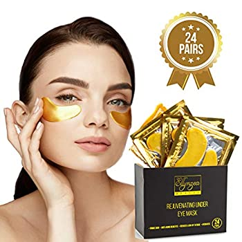 🔸LOOK GREAT: Made with natural ingredients, our superb under eye mask instantly firms skin, effectively relieves the look of tired eyes, puffiness, bags, and dark circles while reducing the appearance of fine lines and wrinkles. 🔸FEEL GREAT: Our rema...