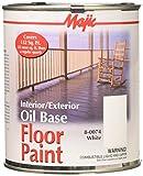 YENKIN MAJESTIC PAINT INT/EXT OB 8-0074-2 0074-2 White Interior/Exterior Oil Base FLR QT, 32 Fl Oz