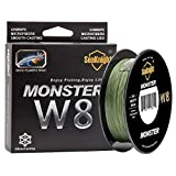SeaKnight Monster W8 Fil de Peche Tresses 8 brins 300M/500M Super Lignes de...
