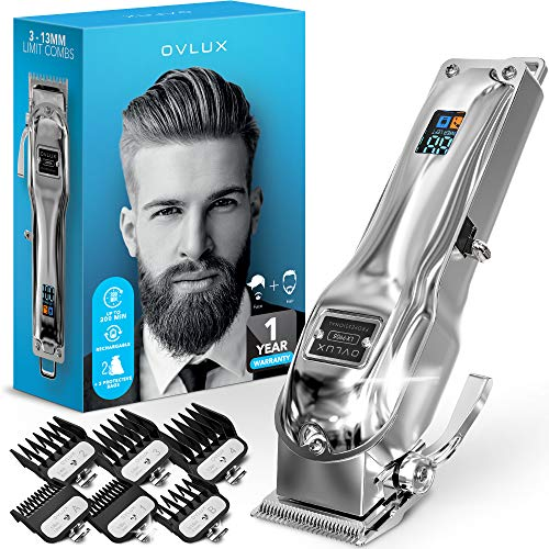 OVLUX Hair Clippers for Men - Professional Cordless...