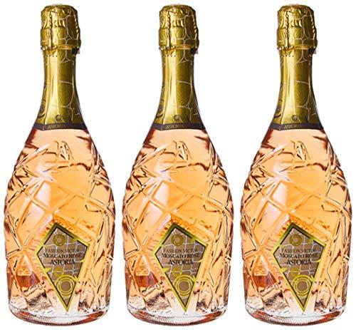 Astoria Moscato Rose'Fashion Victim'Spumante - 3 bottiglie da 750 ml