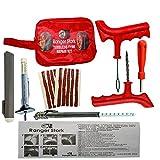Pneu Doctor d'urgence de voiture van Moto Tubeless Pneu kit de réparation avec valve Core Touche, Pneu...