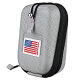 Golf Range Finder Bag Hard Case for Tectectec Callaway and Other Most Brands (Silver)