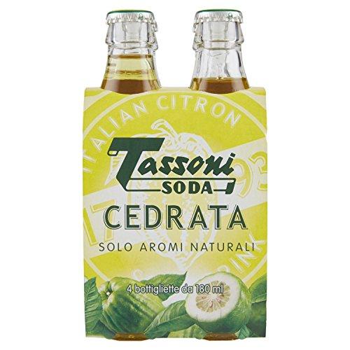 Tassoni Soda Cedrata - 4 x 180 ml
