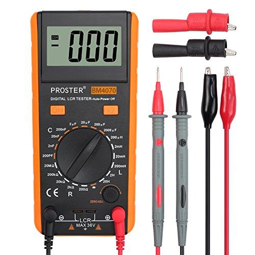 Proster LCR Meter LCR Multimeter Tester for...