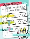 Apprenons à tracer : Lignes Formes Lettres : Cahier d'activités pour...