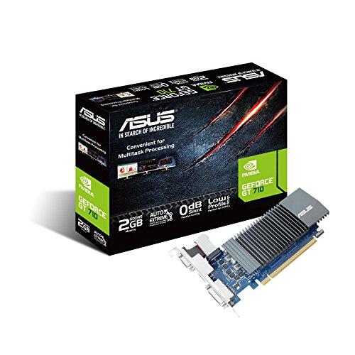 ASUS GT710-SL-2GD5 GeForce GT 710 2GB GDDR5 - Tarjeta gráfica...