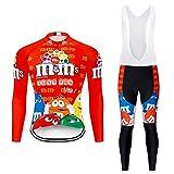 Moxilyn Maillot De Cyclisme,Tenue Cyclisme Homme Hiver,Manches...