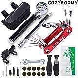 COZYROOMY Kit réparation Pneu vélo. Kit Outil vélo comprises...