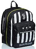 Zaino Doppio Scomparto Juventus, Best Match, Bianco e Nero, Scuola & Tempo Libero