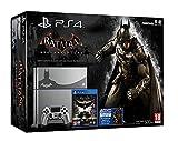 Inclus : La PlayStation 4 édition limitée grise Le jeu Batman : Arkham Knight Le DLC Scarecrow Nightmare Contact du support de Sony : 01 70 70 07 103