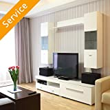 TV Stand or Media Storage Assembly - Entertainment Center