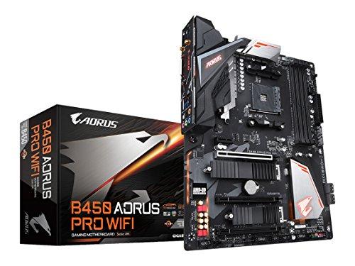 GIGABYTE B450 AORUS PRO WIFI ATX マザーボード [AMD B450チップセット搭載] MB4533