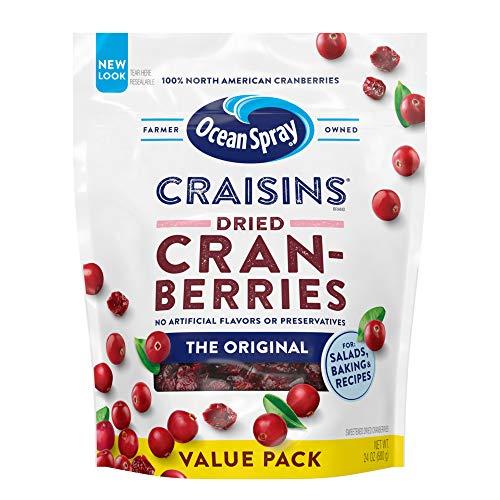 Ocean Spray Craisins Dried Cranberries, 24 Ounce