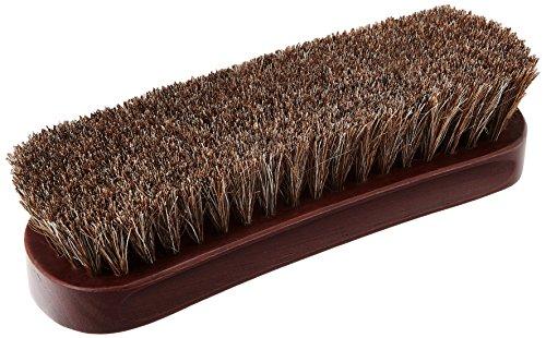 [コロニル] 馬毛ブラシ 靴磨き 汚れ落とし クリーニング あらゆる素材に対応可能 靴 バッグ 小物 Brown F