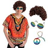 Adult Men hippie costume (Standard)
