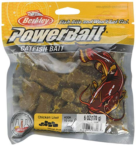 Berkley PowerBait Catfish Bait Chunks , Chicken Liver