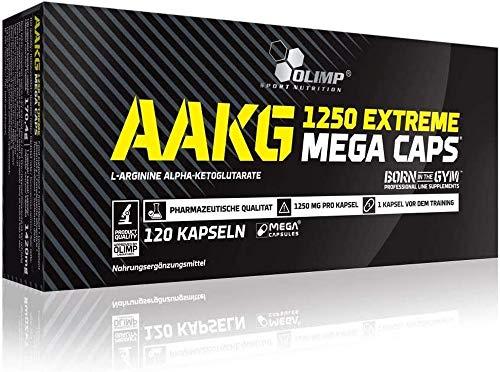 Olimp AAKG Extreme Mega Caps , 120 Kapseln, 1er Pack (1 x 150 g Dose)
