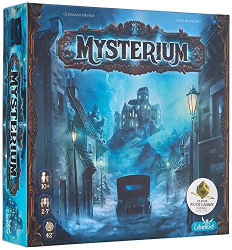 Mysterium - Asmodee - Jeu de société - Jeu coopératif