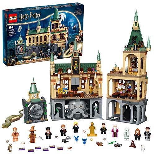 LEGO 76389 Harry Potter Schloss Hogwarts Kammer des Schreckens Spielzeug, Set mit einer goldenen...