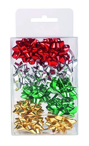 Clairefontaine - Lazos para decoración de regalos, tamaño pequeño, 12 unidades, multicolor