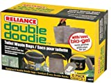 Reliance Products 2683-03 Double Doodie Toilet Waste Bags (6-Pack), Brown