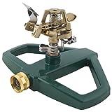 Melnor 3900H Impact Lawn Sprinkler, Basic, Metal Base