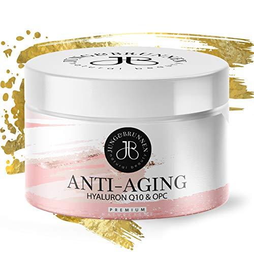 *NEU* Original J&B Anti-Aging Hyaluron Creme für Frauen I Anti-Faltencreme mit Hyaluronsäure Serum I Feuchtigkeitscreme für Haut und Gesicht I Made in Germany