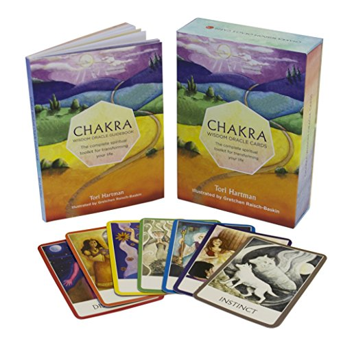 Chakra Wisdom Oracle Cards: The Complete Spiritual Toolkit...