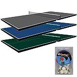 Martin Kilpatrick Ping Pong Table for Billiard Table   Conversion Table Tennis Game Table   Table Tennis Table w/ Warranty   Conversion Top for Pool Table Games   Table Top Games   Ping Pong Table Top, Green