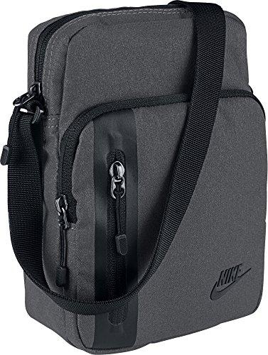 Nike Tech Crossbody Tasche, Dark Grey/Black/Black, One Size