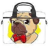 Lurnies Perro de Dibujos Animados de Animales Estuche portátil Impreso único Compatible con MacBook Pro de 13-13.3 Pulgadas, MacBook Air, computadora portátil 28x36.8x3 cm