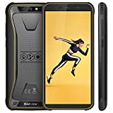 Blackview Oficial BV5500 (2020) Mvil Libre Resistente IP68 Impermeable Robusto de 5.5' (13.9cm, 18:9), 2GB/16GB, Android 8.1, Doble Cmara 8MP+5MP, 4400mAh Batera SIM Doble Smartphone- Amarillo