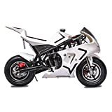 Fit Right 2020 Mini Gas Pocket Bike 03 On 40cc 4 Stroke, Support Up to 165 lbs, EPA Approved,...